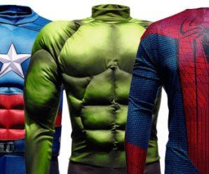 Форма супергероя: тренируйся как Халк и Человек-паук